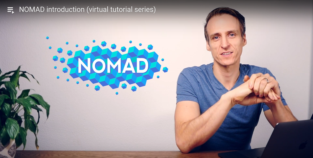 Tutorial on the NOMAD Repository & Archive
